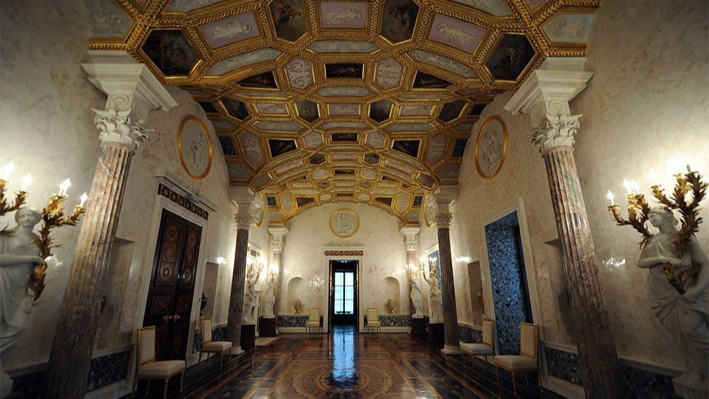 Агатовые комнаты в Царском Селе внутренний интерьер ракурс 3