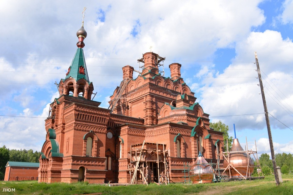 Абабковский монастырь с наружи