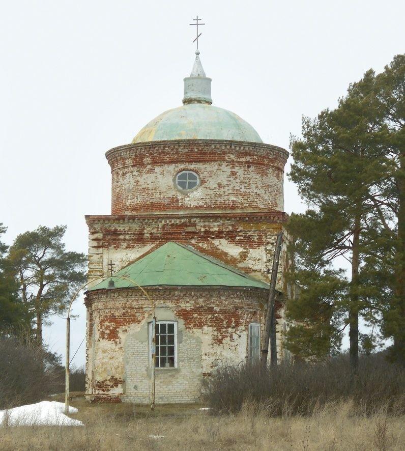 Церковь Николая Чудотворца в Лопуховке