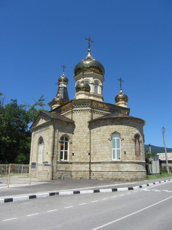 Храм святителя Николая Чудотворца в Адербиевке