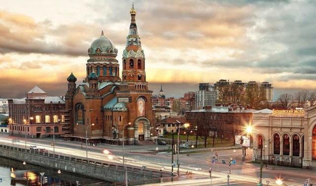 """Храм Воскресения Христова """"Варшавка"""" в Санкт-Петербурге"""