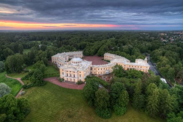Музей-заповедник Павловск под Санкт-Петербургом