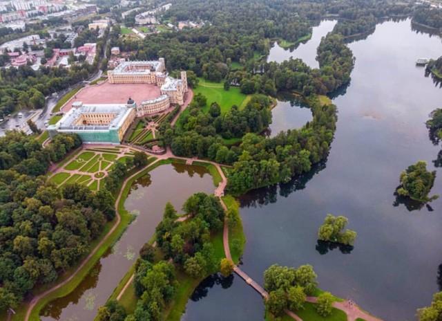 Гатчинский дворец под Санкт-Петербургом