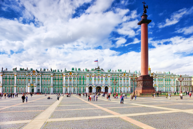 Зимний дворец в Санкт-Петербурге - царские пенаты