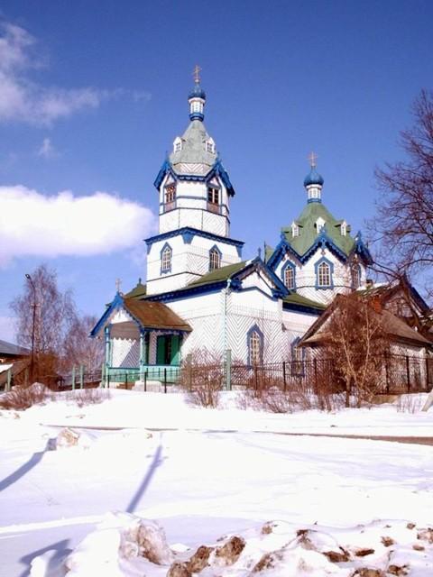 Церковь Александра Невского в Удугучине