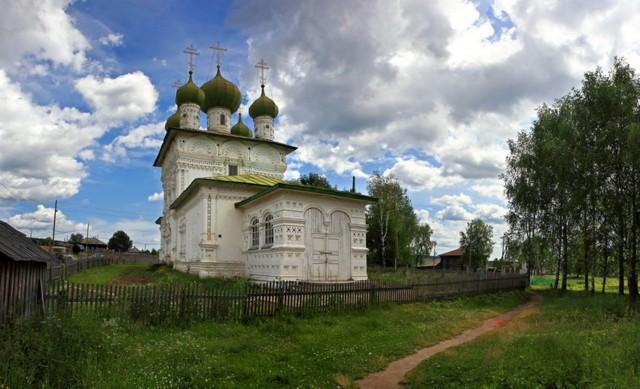Церковь Николая Чудотворца в Ныробе