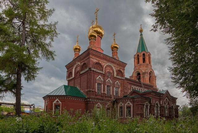 Церковь Николая Чудотворца в Слободском