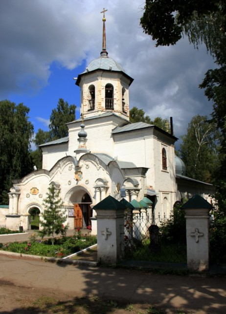 Церковь Троицы Живоначальной в Слободском