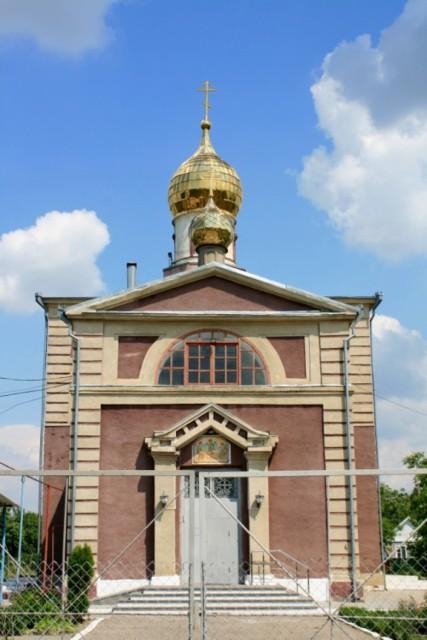 Храм Святой Троицы Живоначальной в Бургун-Маджарах