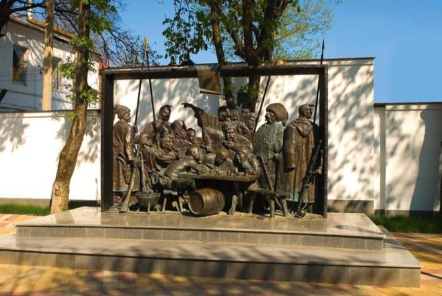 Памятник «Запорожцы» в Краснодаре