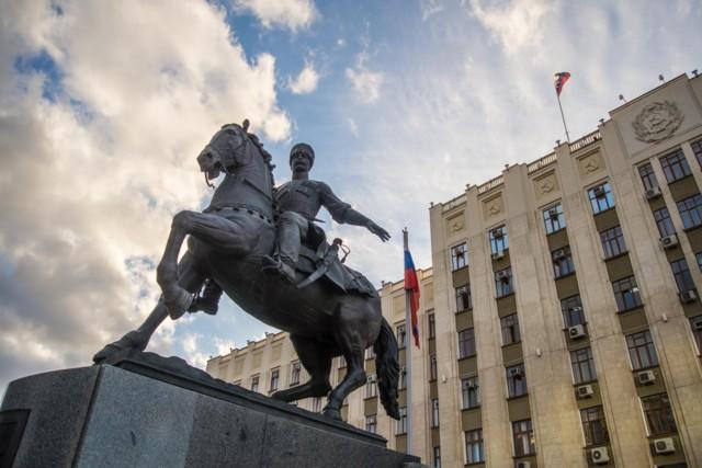 Памятник Кубанскому казачеству в Краснодаре