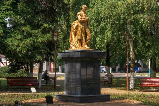 Памятник А.С.Пушкину в Армавире