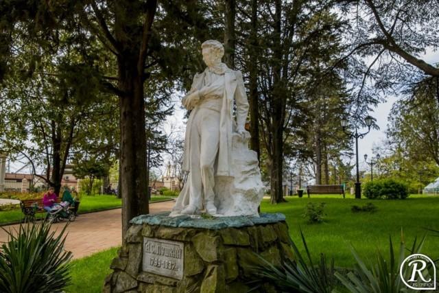 Памятник А.С.Пушкину в Туапсе