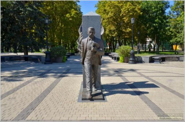 Памятник Ф.А.Щербине в Краснодаре