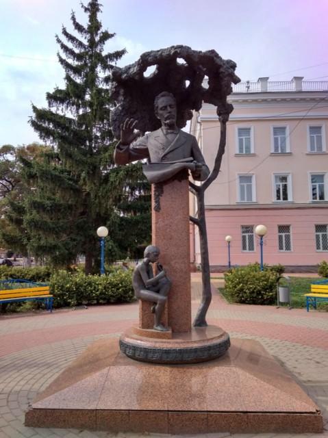 Памятник В.С. Калинникову в Орле