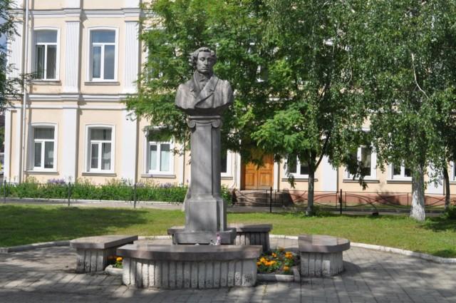 Памятник А.С. Пушкину в Орле