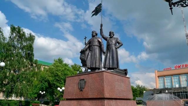 Памятник основателям Старого Оскола