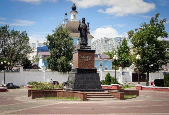 Памятник Святителю Иоасафу в Белгороде