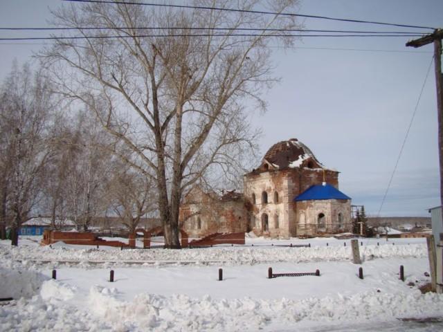 Церковь Вознесения Господня в Багаряке