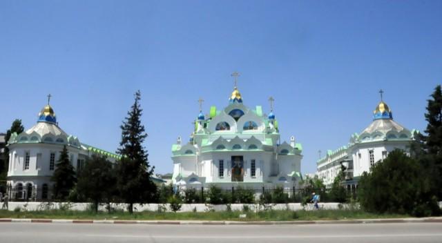 Церковь Екатерины на Архиерейском подворье в Феодосии