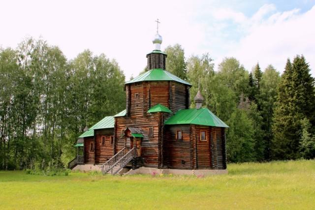 Церковь Иоанна Предтечи в Рябово