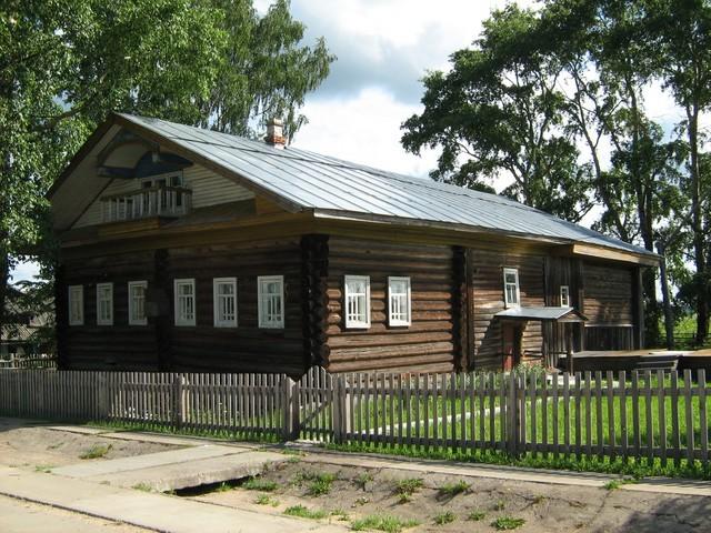 Мемориальный дом-музей И.С.Конева в деревне Лодейно