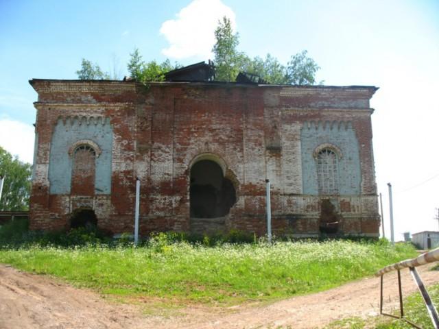 Церковь Казанской иконы Божией Матери в Старых Зятцах