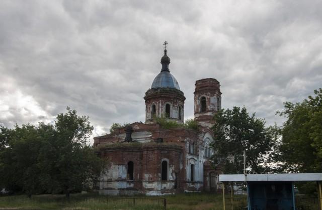 Церковь Николая Чудотворца в Михайловке