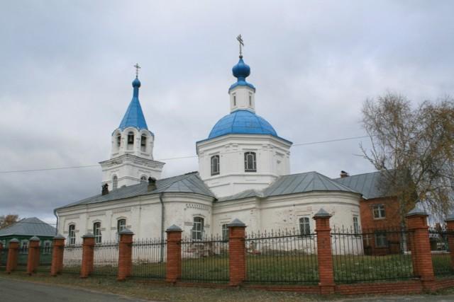 Церковь Покрова Пресвятой Богородицы а Кокшайске