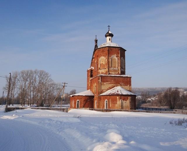 Церковь Троицы Живоначальной в Верхнетроицком