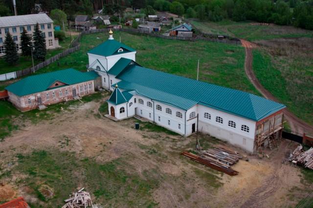 Церковь Александра Невского Спасо-Преображенского мужского монастыря в Преображенском