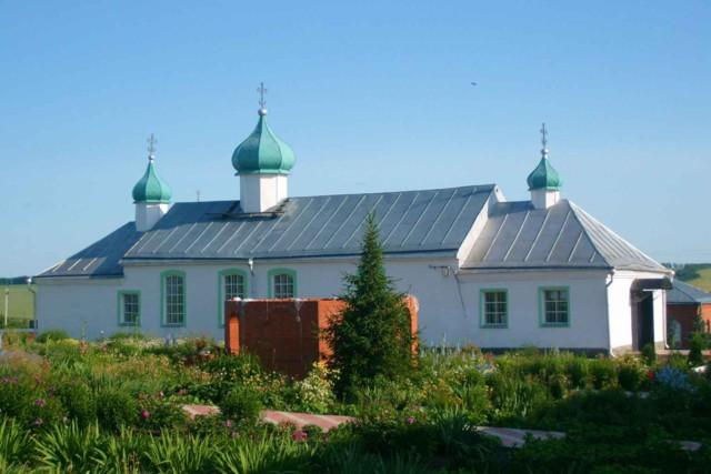Троицкий мужской монастырь в Большом Чуфарово