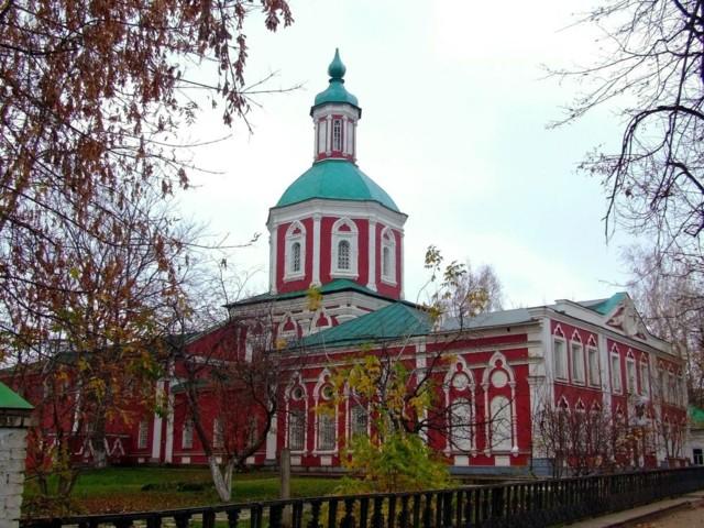 Церковь Трёх Святителей в Саранске
