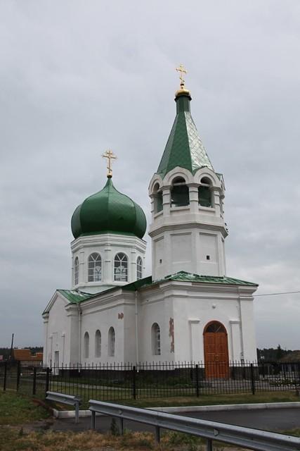 Церковь Александра Невского в Демарино