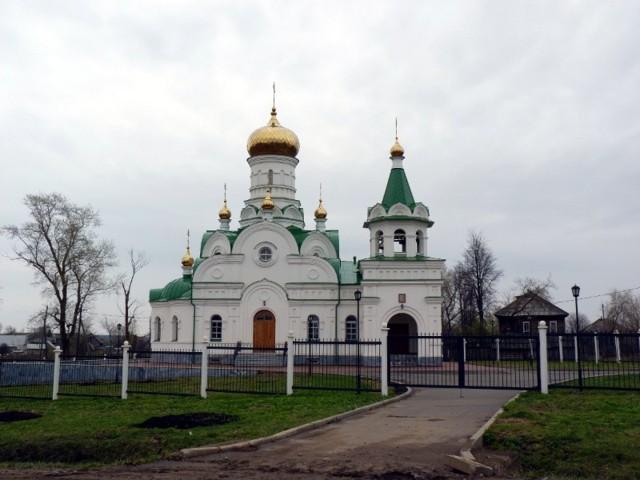 Церковь Троицы живоначальной в Дебёсах