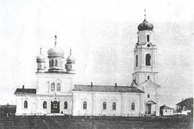 Собор Троицы Живоначальной в Краснослободске