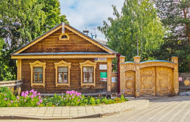 Дом-музей художника Н. Н. Хохрякова в Кирове