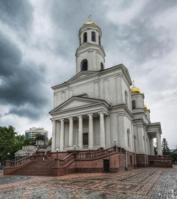 Кафедральный собор Александра Невского в Симферополе