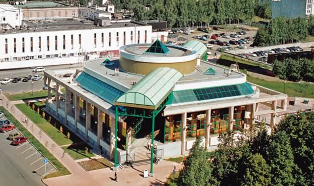 Музейно-выставочный комплекс стрелкового оружия имени М. Т. Калашникова в Ижевске