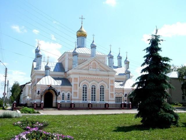 Свято-Ольгинский женский монастырь в Инсаре