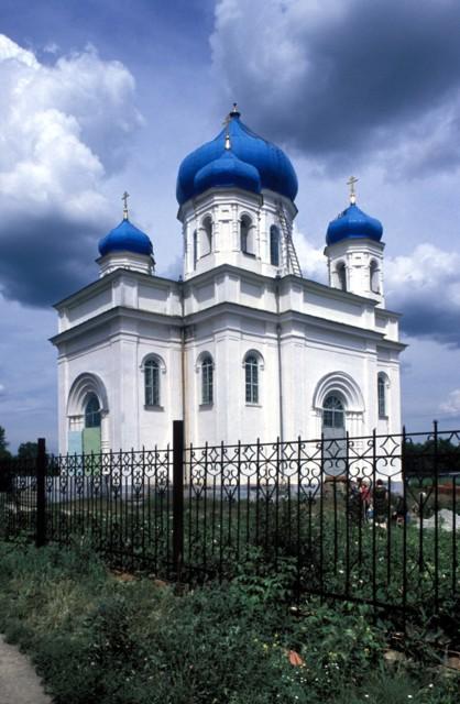 Церковь Спаса Преображения в Троицке