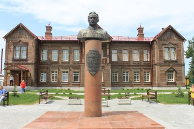 Мемориальный музей М. Т. Калашникова в селе Курья