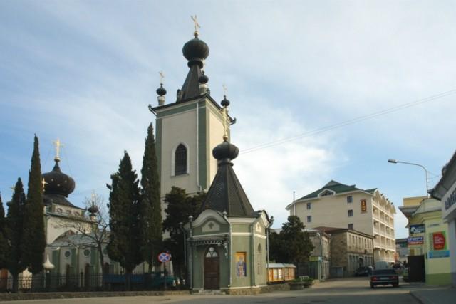 Церковь Всех Крымских святых и Феодора Стратилата в Алуште