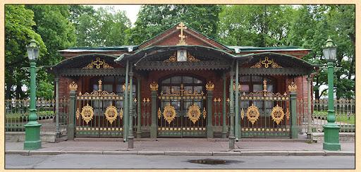Домик Петра I – первая постройка Санкт-Петербурга