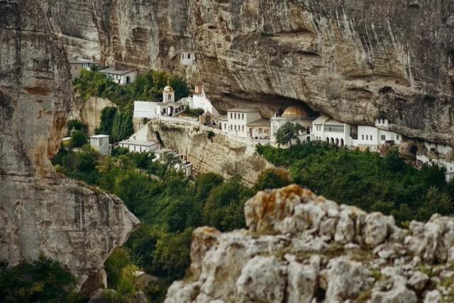 Успенский мужской монастырь в Бахчисарае