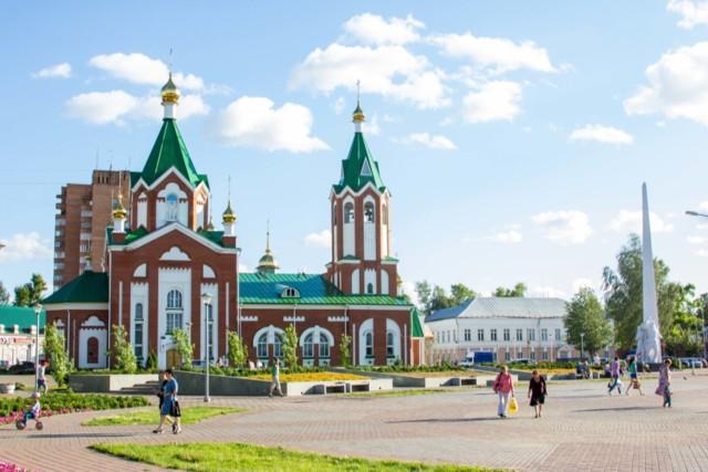 Кафедральный собор Спаса Преображения в Глазове