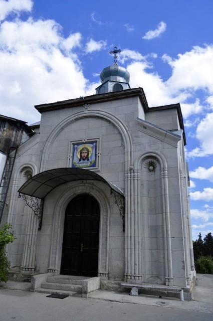 Церковь Нины равноапостольной в бывшем имении Харакс в Гаспре