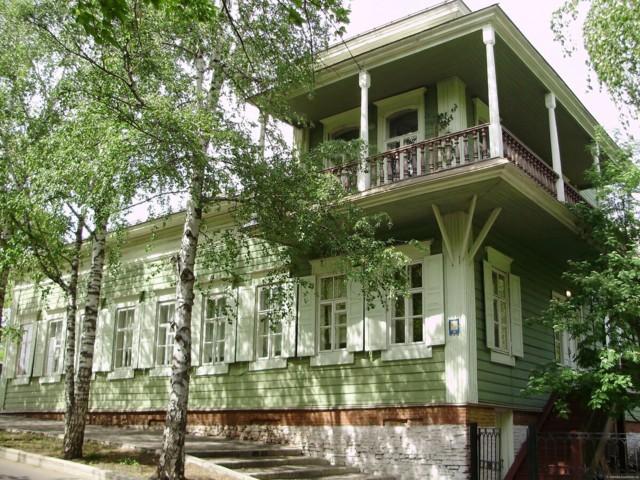 Мемориальный дом-музей С. Т. Аксакова в Уфе