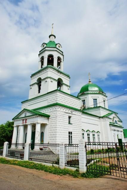 Церковь Николая Чудотворца в Завьялово