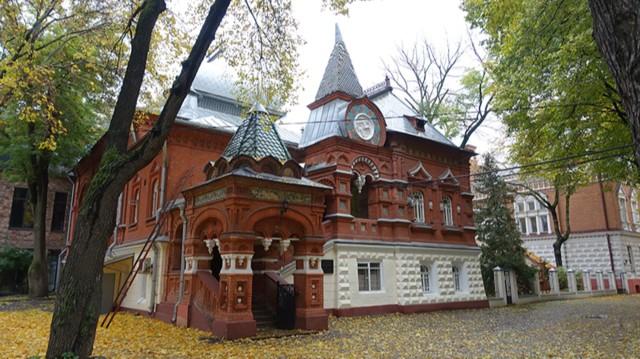 Городская усадьба  П.И.Щукина